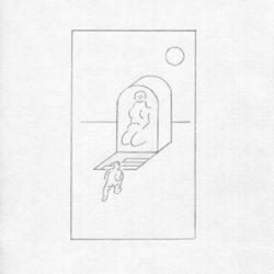 倪和孜,陽影子1,2016,鉛筆/紙本,26 x 17 cm