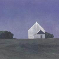 陳建中,布列塔尼風景之二,1990,油彩 / 畫布,65 x 92 cm
