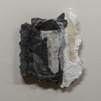 林延,布魯克林的音符 2016,2016,墨、宣紙、紗布,33 × 27 × 5 cm