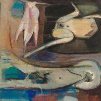 顧福生,六重天,1964,油彩 / 畫布,127 x 102 cm