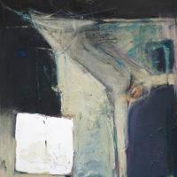 顧福生,反芻,1966,綜合媒材 / 畫布,102 x 84 cm
