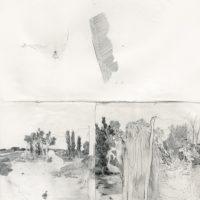 鄭帛囪,無題 no. 008,2014,紙上繪畫,25.5 x 20.5 cm