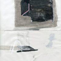 鄭帛囪,無題 no. 001,2014,紙上繪畫,25.5 x 20.5 cm