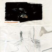 鄭帛囪,無題 no. 003,2014,紙上繪畫,25.5 x 20.5 cm