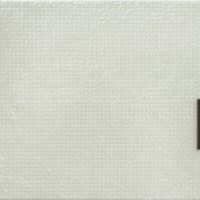莊普,均質的滲透,2014,畫布、鋁製品,50 × 60.5 cm