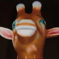 林彥瑋,就是喜歡你這樣24,2014,油彩/畫布,27 x 35 cm