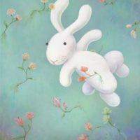 黃本蕊,地心失落園,2013,壓克力顏料/畫布,61 x 51 cm