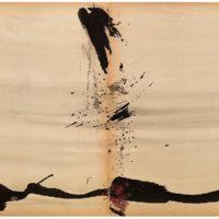 曾海文,No. 214,1970-1971,水墨、水彩/ 紙,70 x 50 cm/ each, set of 2