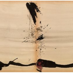 曾海文,No. 214,1970-1971,水墨、水彩/ 紙,70 x 50 cm/ each, set of 2