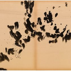 曾海文,No. 215,1970-1973,水墨/紙,70 x 50 cm/ each, set of 2