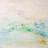 謝景蘭,No. 123,1967,油彩/畫布,80 x 80 cm