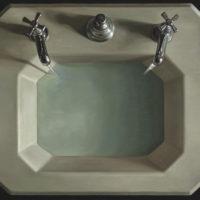 葉子奇,等待,1991-1994,卵彩‧油畫/亞麻布,76.2 x 96.5 cm