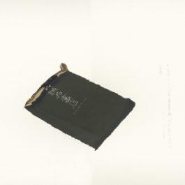 王玉平,誠品書袋,2012,壓克力顏料、油畫棒/紙,55.5 × 78.5 cm