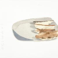 王玉平,八方雲集,2012,水彩/紙,23 × 31 cm