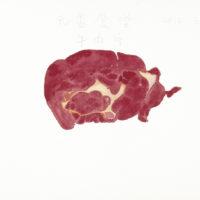 王玉平,元香食堂-牛肉片,2012,水彩/紙,23 × 31 cm