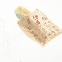 王玉平,蔥花長餅,2012,水彩/紙,23 × 31 cm