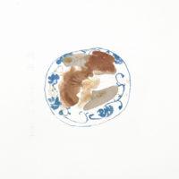 王玉平,豬肝,2012,水彩/紙,23 × 31 cm