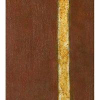 蘇旺伸,裕民一路 I,1982,綜合媒材/合板,183 x 61 cm