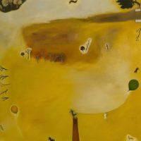 蘇旺伸,空地,2012,油彩/畫布,195 x 195 cm