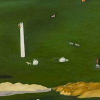 蘇旺伸,郊遊,2012,油彩/畫布,150 x 200 cm