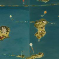 蘇旺伸,塭,2012,油彩/畫布,195 x 170 cm, Set of 2
