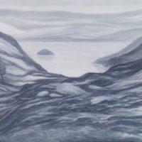 林煒翔,晃遊 (八),2012,油彩/畫布,162 x 227 cm