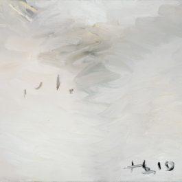 劉小東,牆角,2010,油彩/畫布,33 x 38 cm