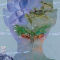 郭淳,心識系列 [航],2008,油彩/畫布,125 x 250 cm