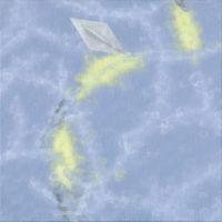 郭淳,曳 2,2008,油彩/畫布,40 x 40 cm
