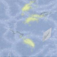 郭淳,曳 4,2008,油彩/畫布,40 x 40 cm