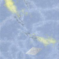 郭淳,曳 5,2008,油彩/畫布,40 x 40 cm