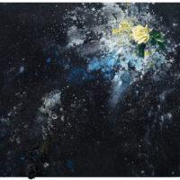司徒強,追憶3,2007,壓克力顏料/ 多媒材/ 麻布,124.5 x 185.2 cm