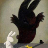 黃本蕊,請包涵我不懂事的內在,2010,壓克力顏料/畫布,61 x 50.8 cm