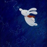 黃本蕊,畫出你自己的星座,2009,壓克力顏料/畫布,50.8 x 40.6 cm
