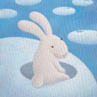 黃本蕊,迷失在雲端-獻給短暫失憶症的朋友們,2010,壓克力顏料/畫布,61 x 50.8 cm