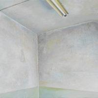 陸亮,空鏡-3,2018,油彩/畫布,32 x 41 cm