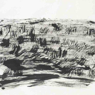 李安成,無題山水,c. 2000s,水墨/紙本,137.5 x 144.5 cm