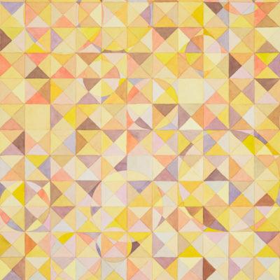 莊普,矮棕,2019,水彩/紙,76 x 55 cm