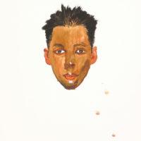 劉小東,小越,2009,石版畫/紙,76 x 57 cm