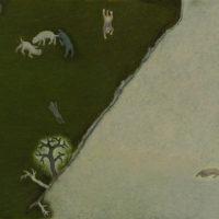 蘇旺伸,《休耕》,2017,油彩/畫布,41 x 53 cm