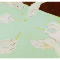 黃華真,天天,2013,油彩 / 畫布,112 x 162 cm