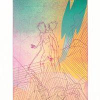 郭文祥,《Untitled ed.1/2》,2017,金屬凹版推刀,30 x 20 cm