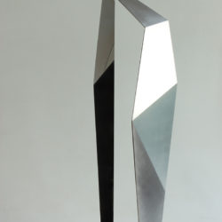 Szumin KUO, Germinating #4, 2013, Stainless steel, 68 x 14 x 18 cm Ed. 6 + 1 AP