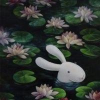 Benrei HUANG, Prima Dona gets what she's wanted, 2011, Acrylic on canvas, 61 x 51 cm