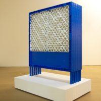 Teppei KANEUJI, White Discharge ( Fences ), 2010, Plastic fence, resin, 99.8 x 34 x 117.5 (h) cm