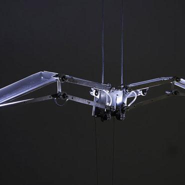 YU Shih-Fu, The Angle of Flying, 2018, 200 x 20 x 25 cm ed.1/6,2/6