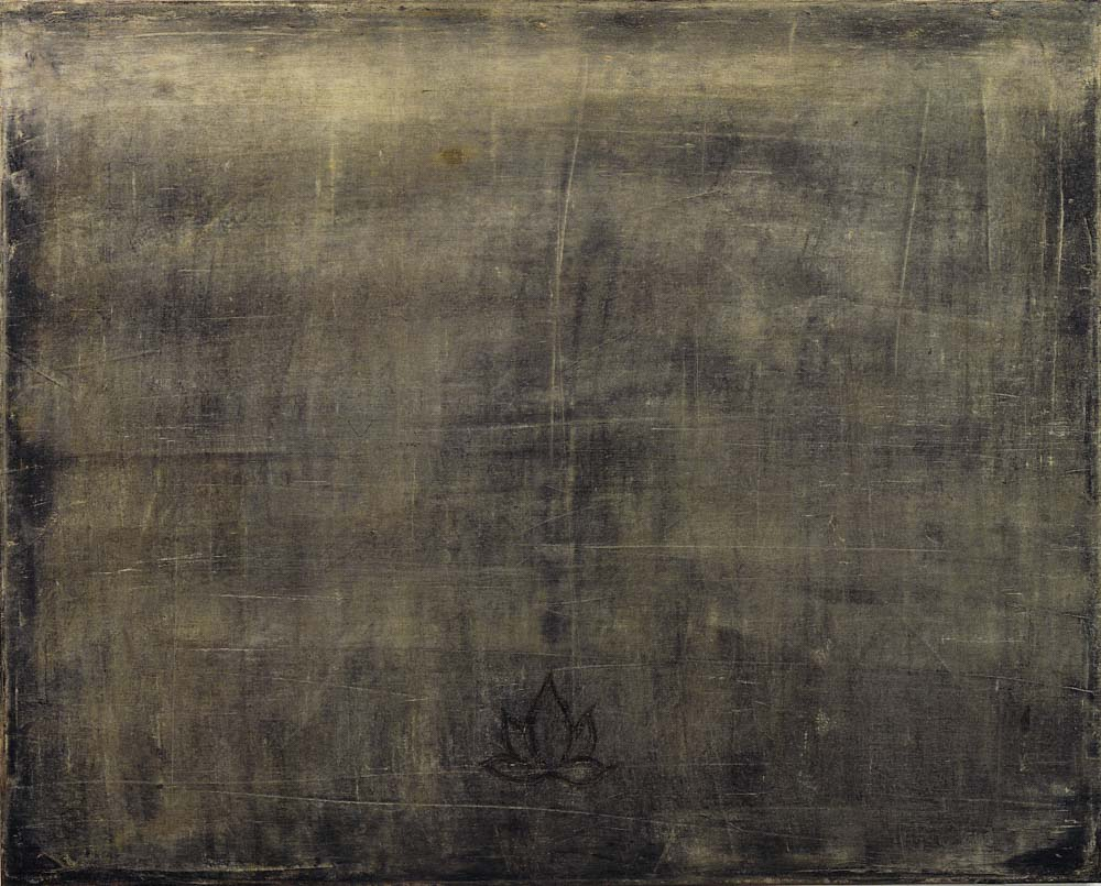 Paul CHIANG, Imagination of Lotus 99-03, 1999, Oil on canvas, 73 x 91 cm