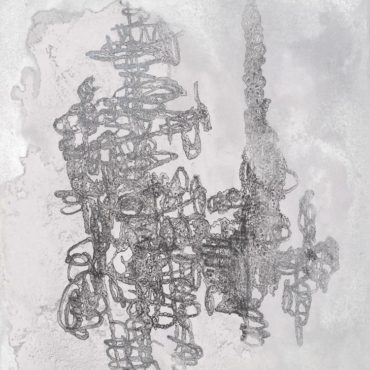 Tommy CHEN, 111114, 2014, Spray paint, ink, marker on drawing paper, 53.5 x 39 cm