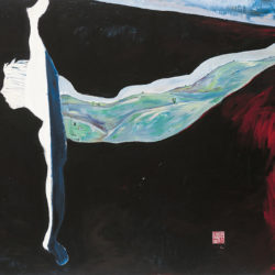 Fu-sheng KU, Some Where in Time, 2001, Oil on canvas, 136 x 171 cm